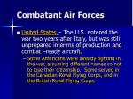 combatant air forces21