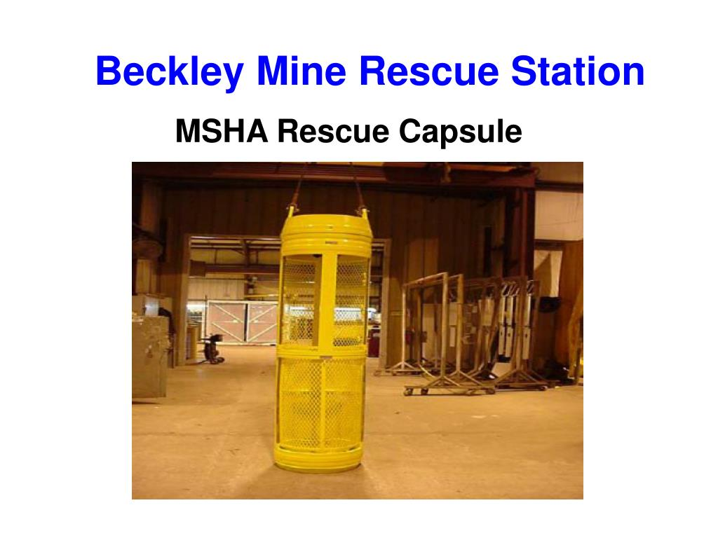 Beckley Mine Rescue Station
