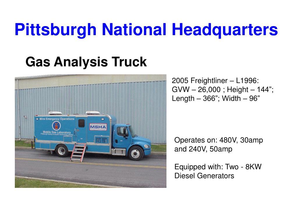 Pittsburgh National Headquarters