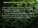 national armed forces britain air