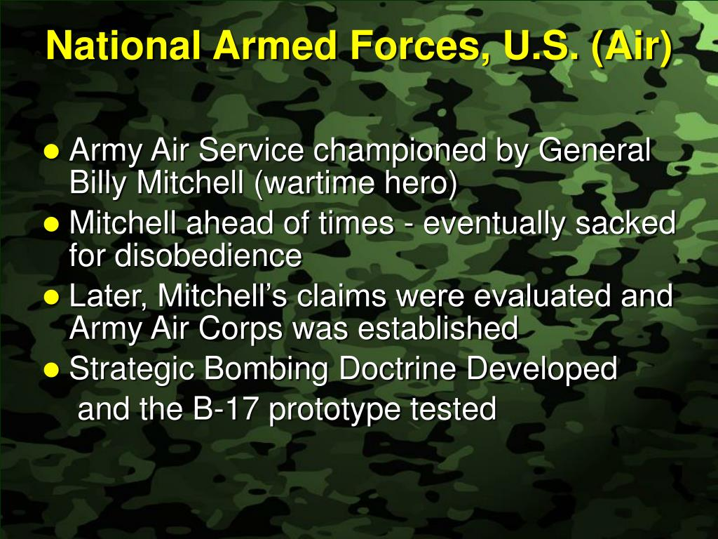 National Armed Forces, U.S. (Air)
