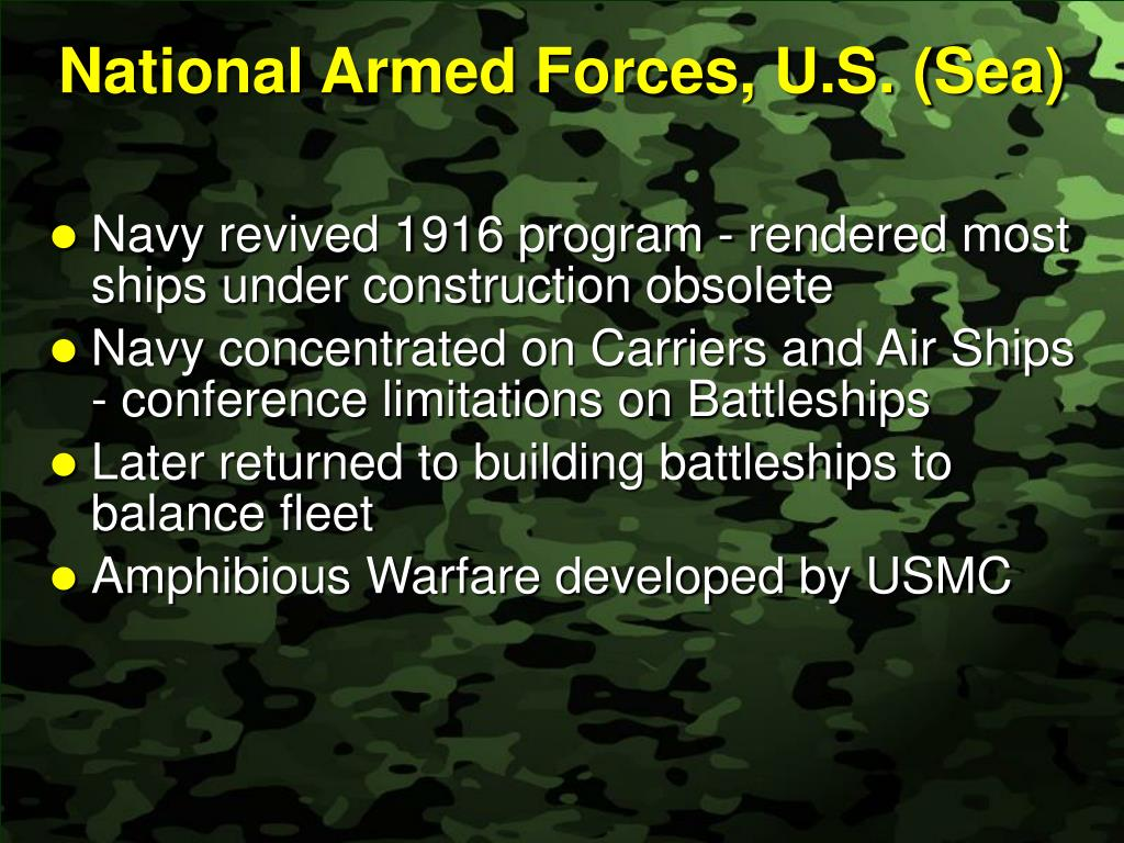 National Armed Forces, U.S. (Sea)
