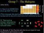 group 7 the halogens29