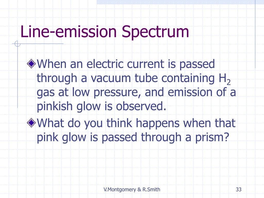 Line-emission Spectrum