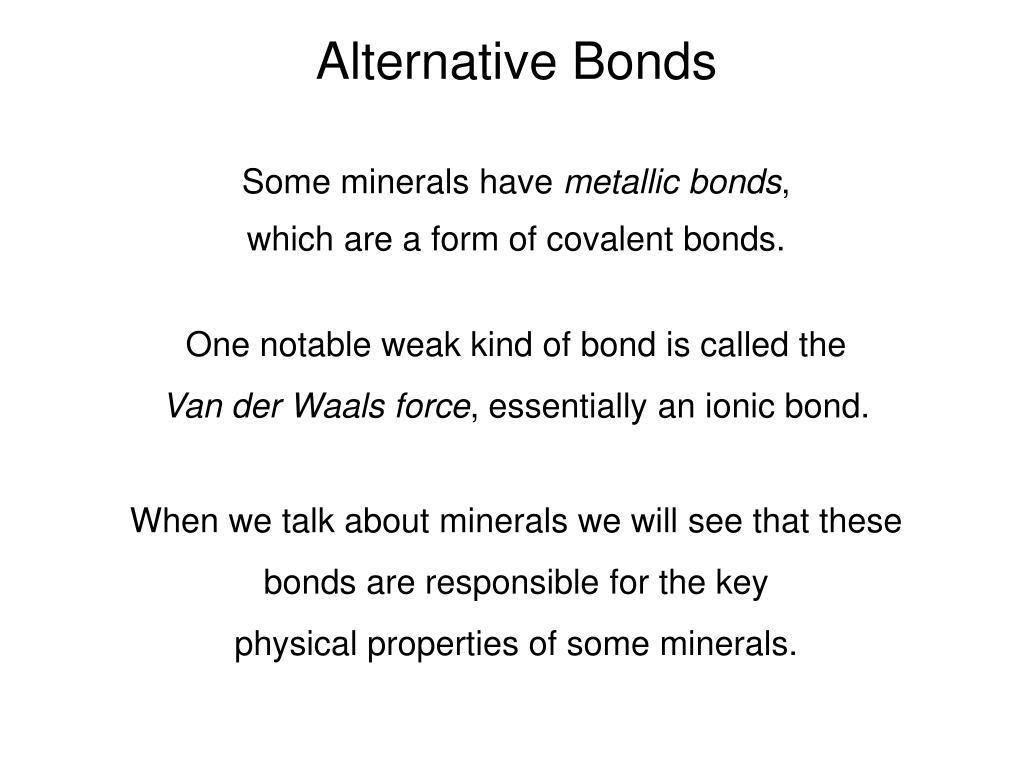 Alternative Bonds