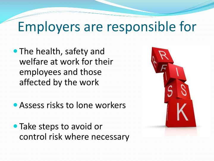 Employers are responsible for l.jpg