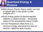 quantized energy photons8