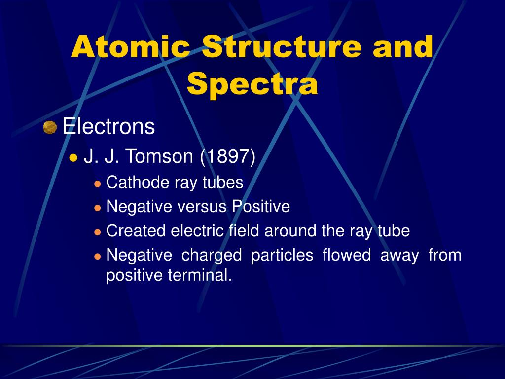 Atomic Structure and Spectra