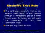 kirchoff s third rule