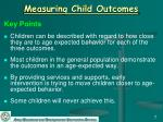 measuring child outcomes7
