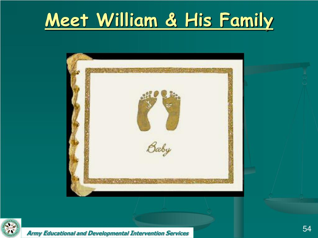Meet William & His Family