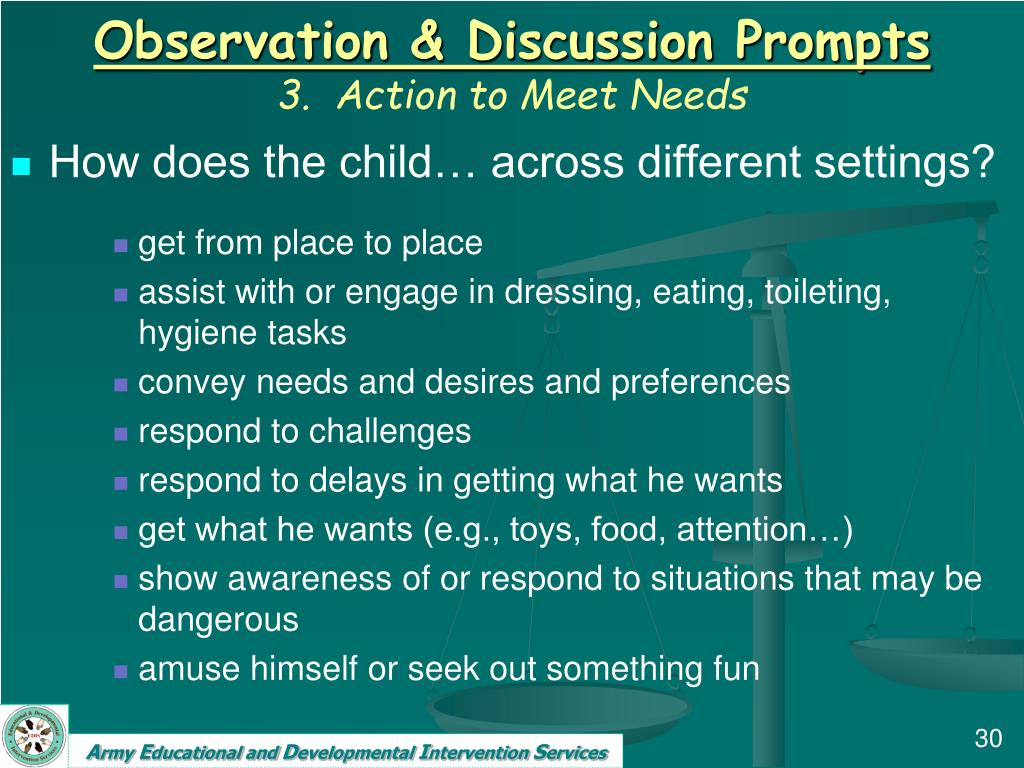Observation & Discussion Prompts