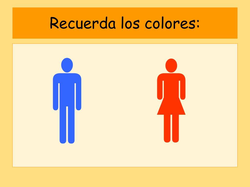 Recuerda los colores:
