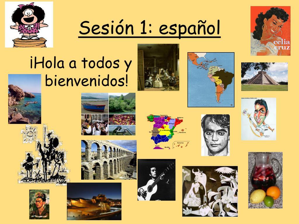 Sesión 1: español