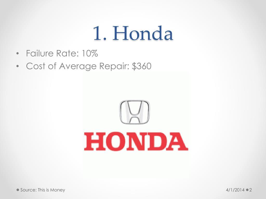 1. Honda