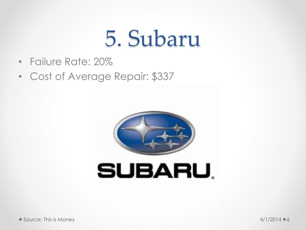 5. Subaru