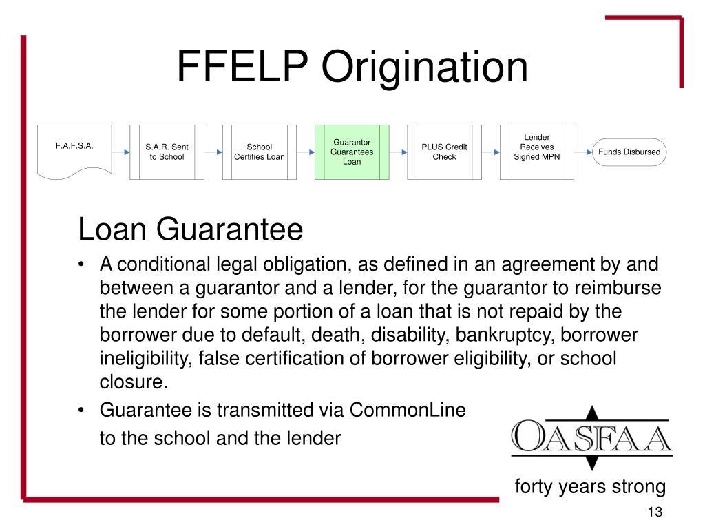 FFELP Origination