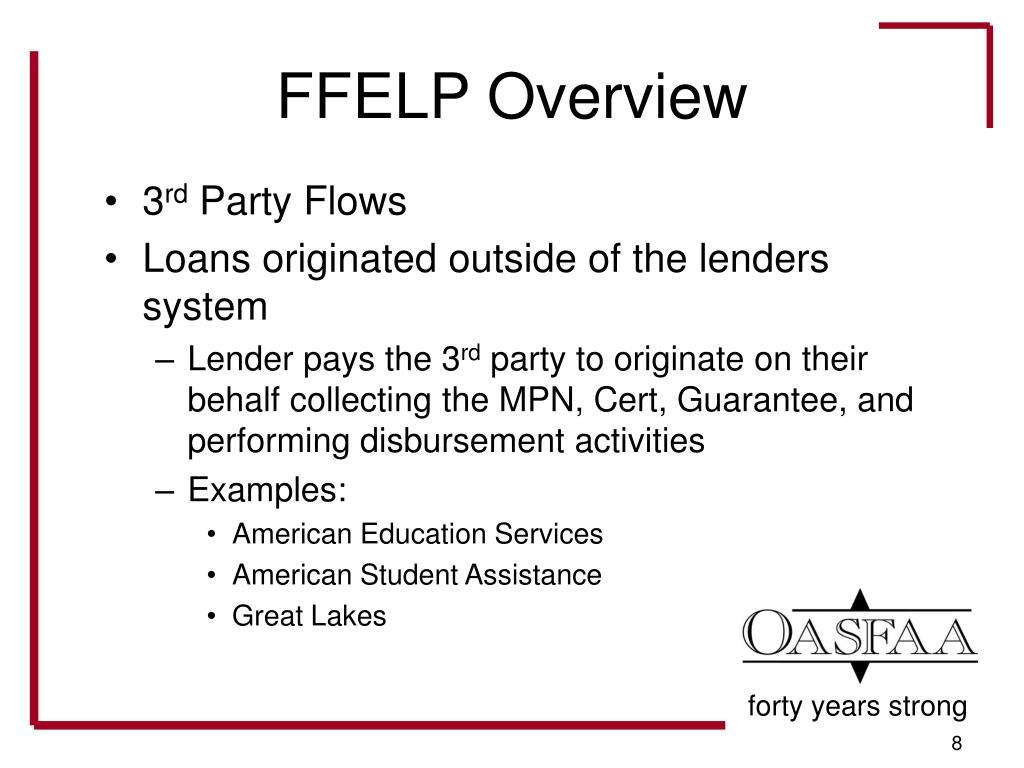 FFELP Overview