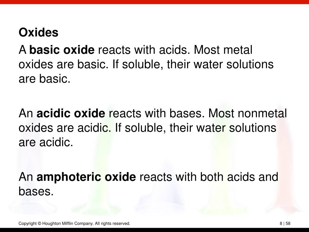 Oxides