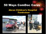 50 ways comdoc cares15