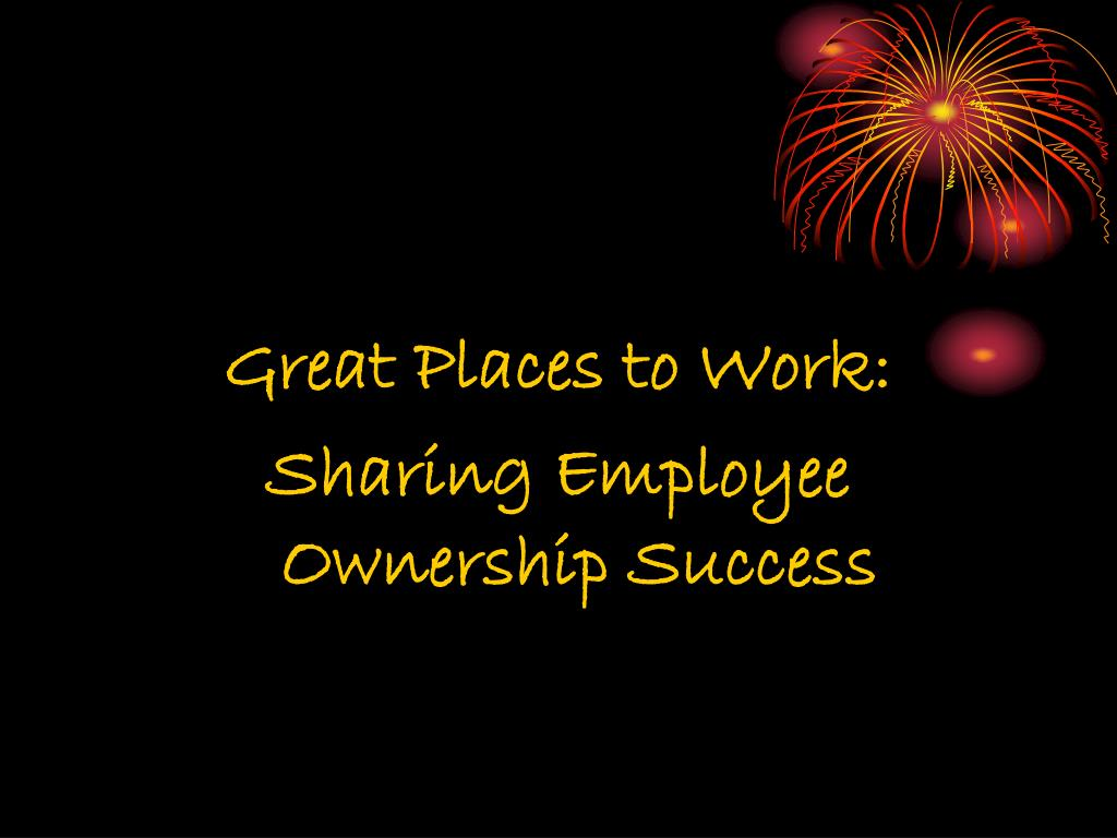 Great Places to Work: