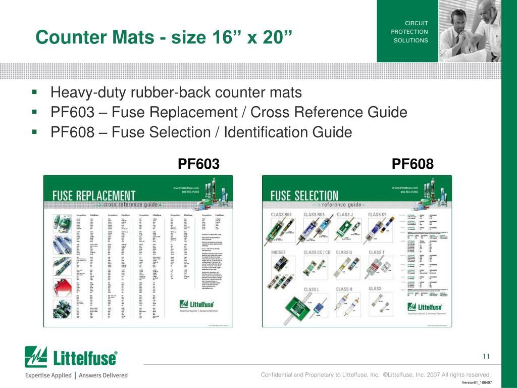 """Counter Mats - size 16"""" x 20"""""""