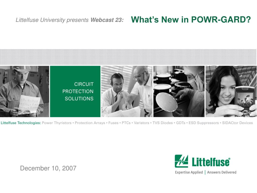 What's New in POWR-GARD?