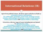 international relations ir5