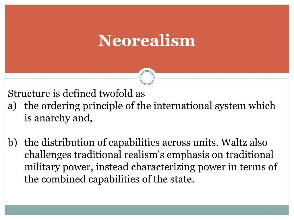 Neorealism