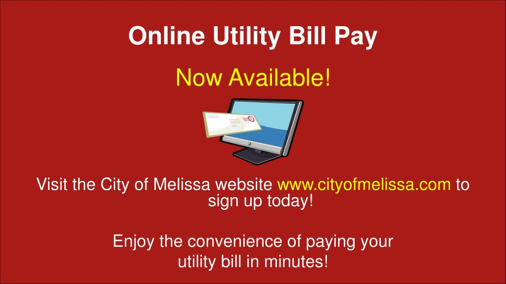 Online Utility Bill Pay