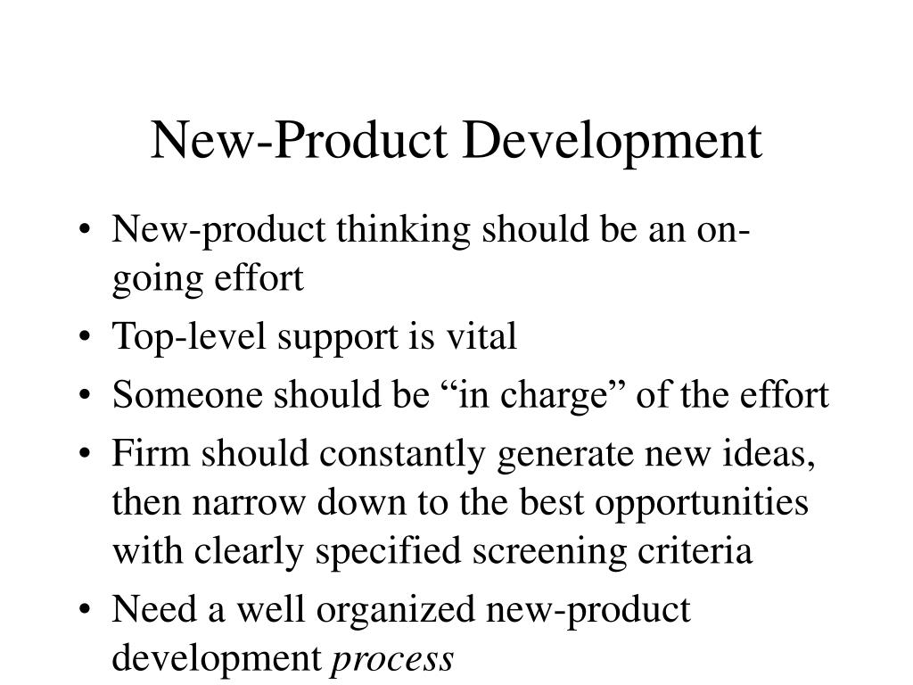 New-Product Development