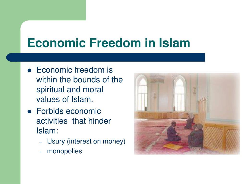 Economic Freedom in Islam