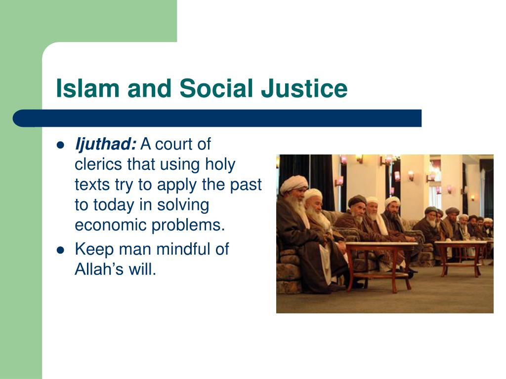 Islam and Social Justice
