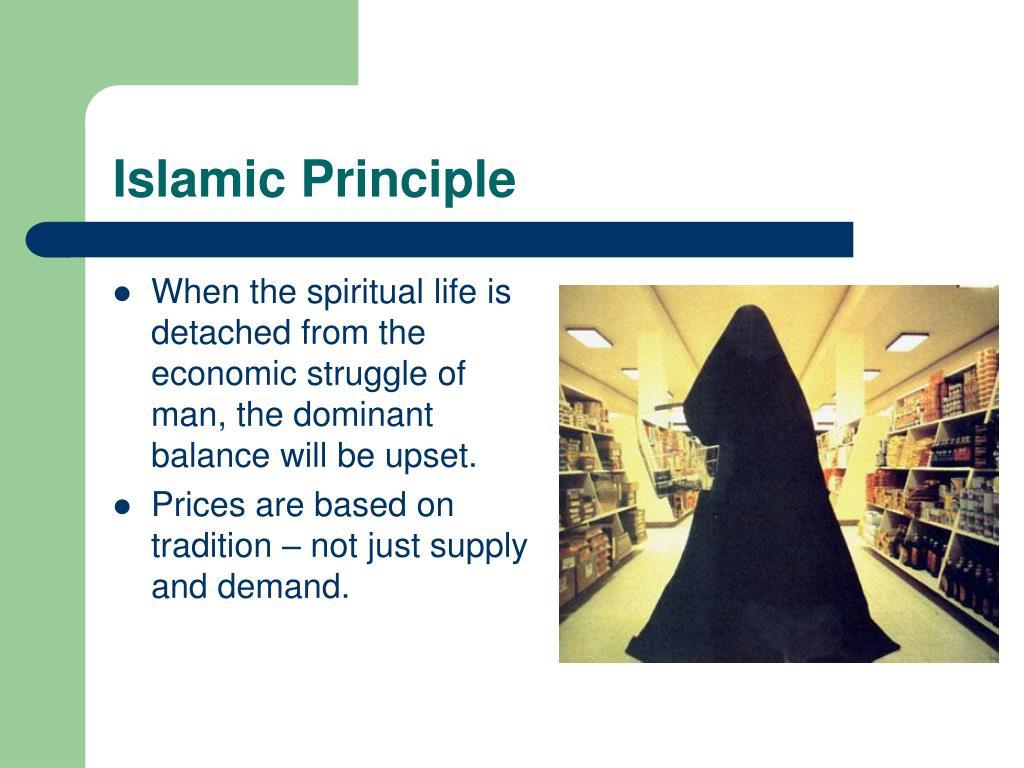 Islamic Principle