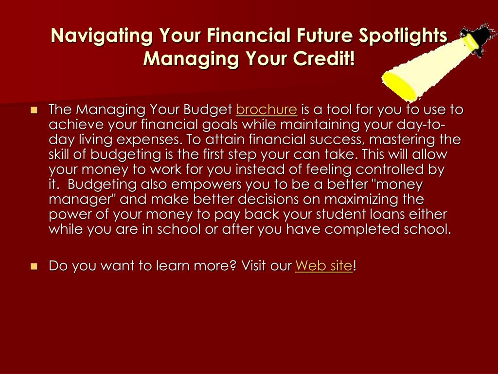 Navigating Your Financial Future Spotlights