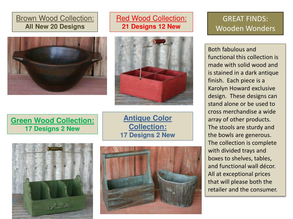 Brown Wood Collection: