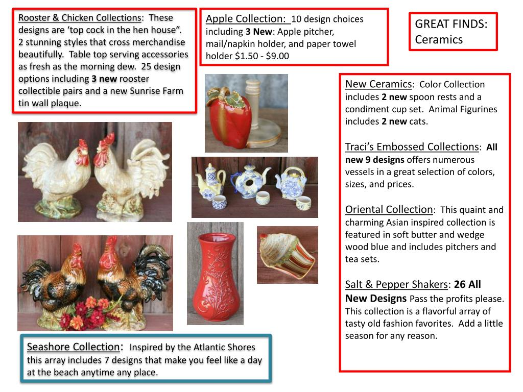 Rooster & Chicken Collections