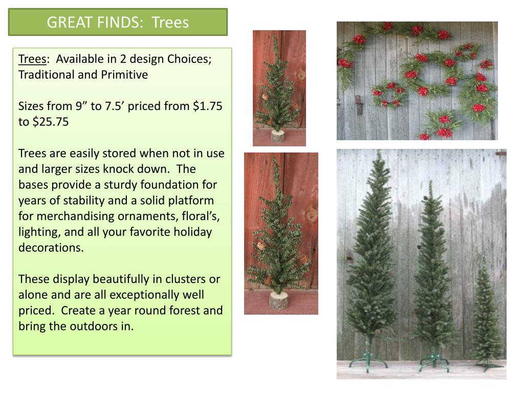 GREAT FINDS:  Trees