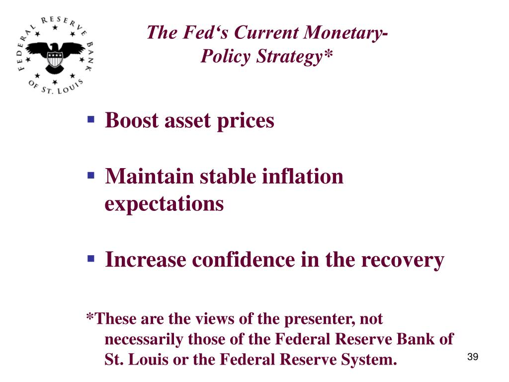 The Fed's Current Monetary-Policy Strategy*