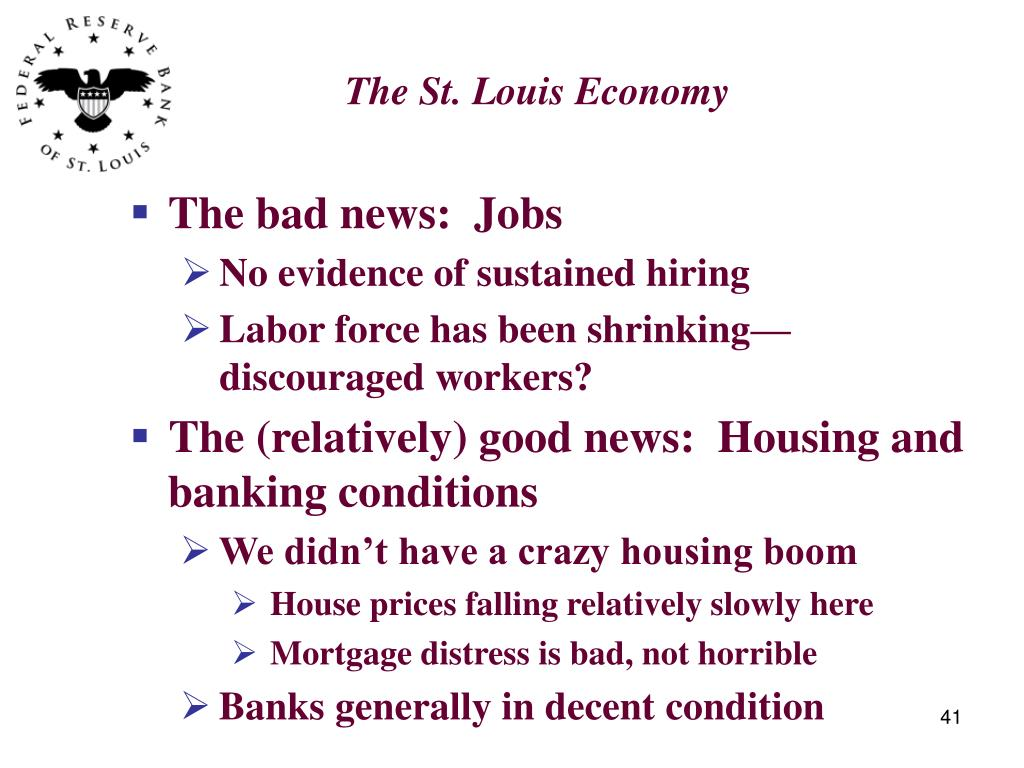 The St. Louis Economy