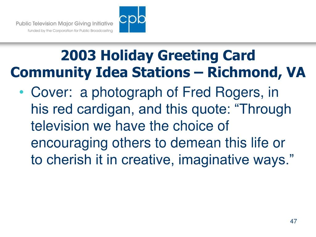 2003 Holiday Greeting Card