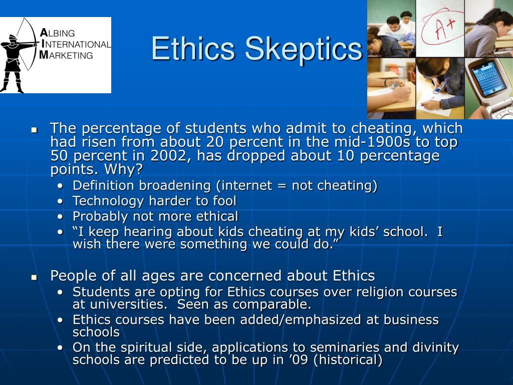 Ethics Skeptics