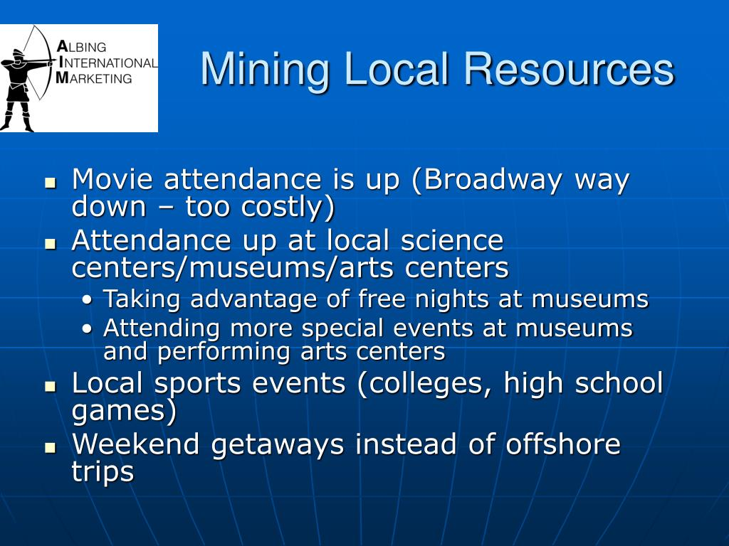 Mining Local Resources