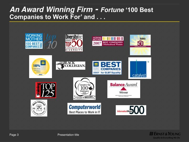 An award winning firm fortune 100 best companies to work for and l.jpg