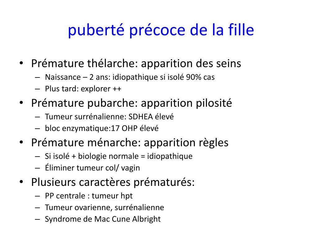 ppt puberte normale et pathologique powerpoint presentation id 608938. Black Bedroom Furniture Sets. Home Design Ideas