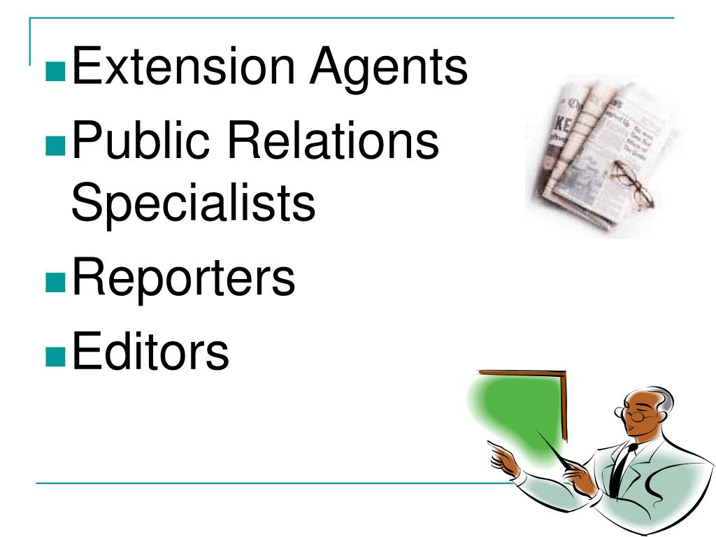 Extension Agents