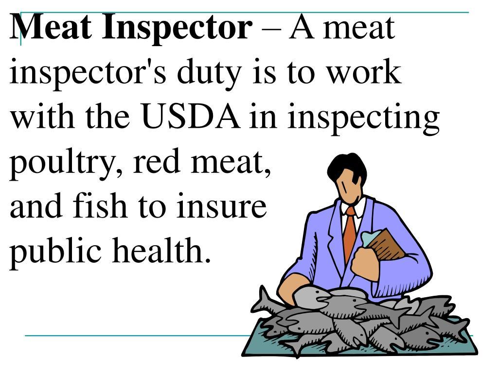 Meat Inspector