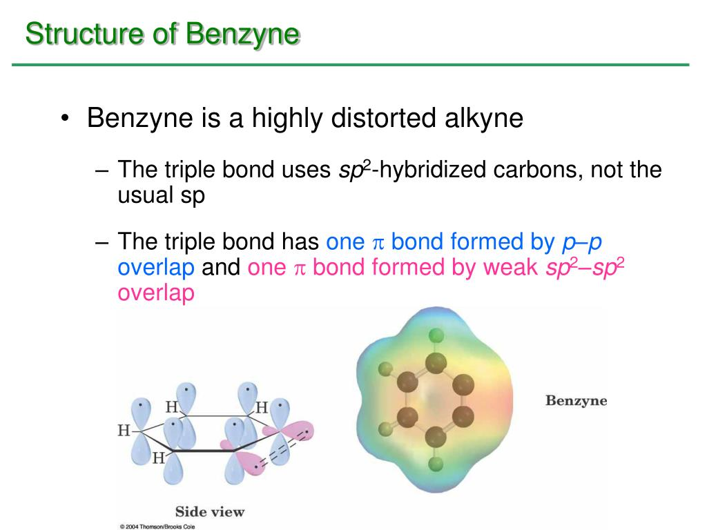 Structure of Benzyne