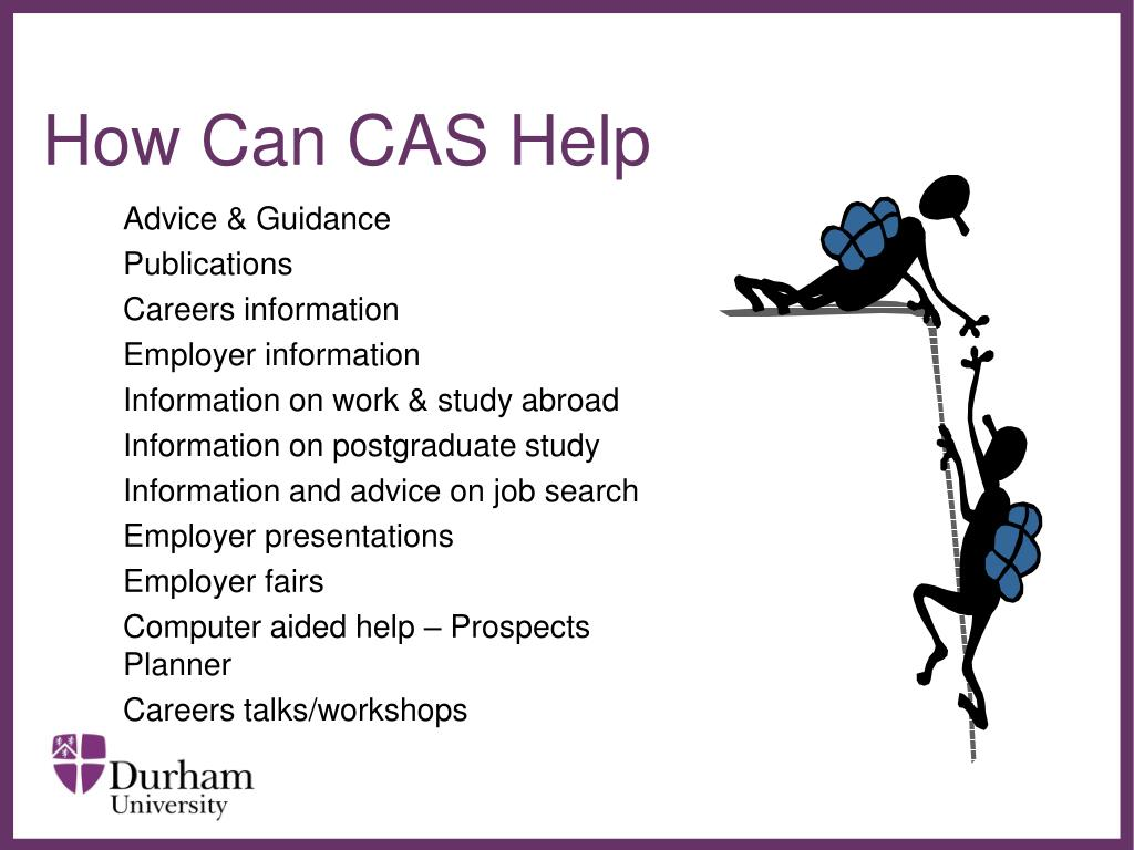 How Can CAS Help