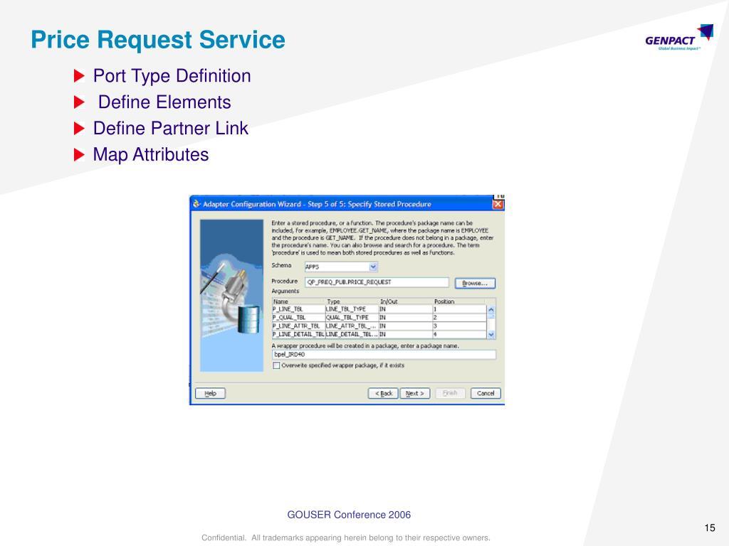 Price Request Service